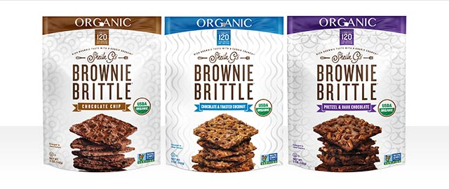 At Select Retailers: Sheila G's BROWNIE BRITTLE Organic  coupon