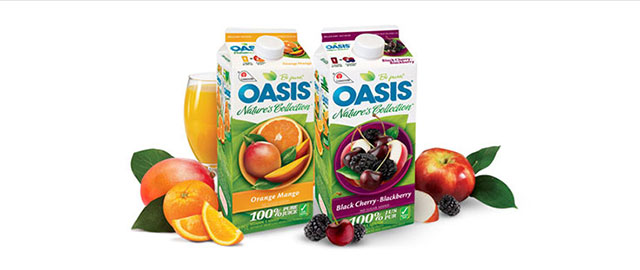 Oasis refrigerated juice coupon