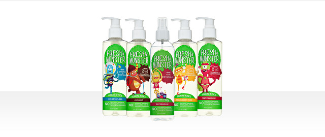 Fresh Monster Kids Toxin-Free Shampoo coupon