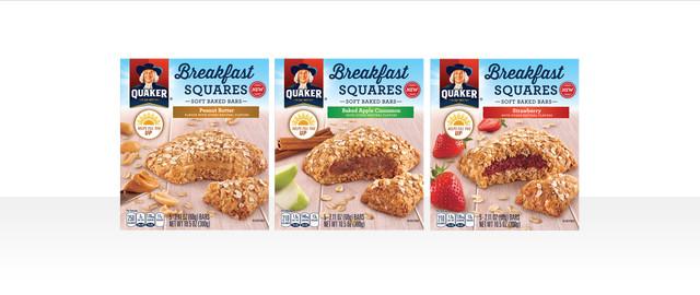 Quaker® Breakfast Squares coupon