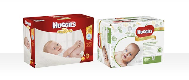 At Babies R Us Combo: HUGGIES® Value Box of Diapers + HUGGIES® Wipes coupon