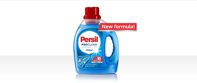 Persil® laundry detergents coupon: Mobile and online grocery coupons