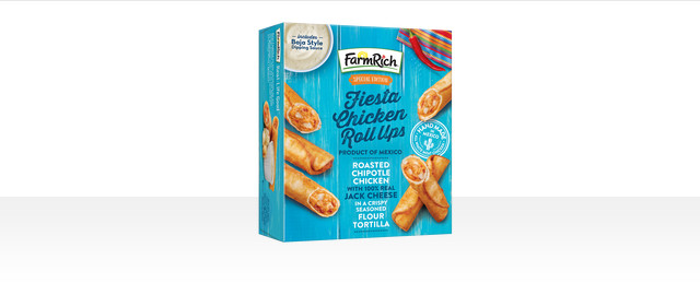 Farm Rich Fiesta Chicken Roll Ups coupon