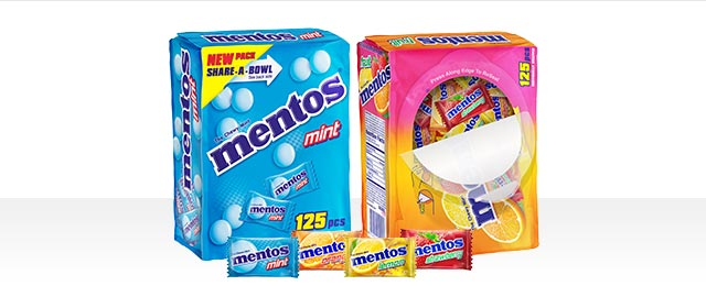 Mentos Share-A-Bowl Individually Wrapped Mints  coupon