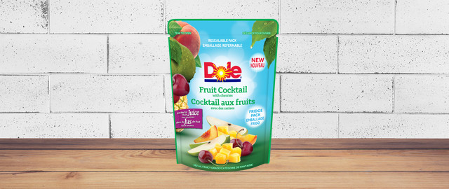 DOLE® fruit cocktail with cherries pouch coupon