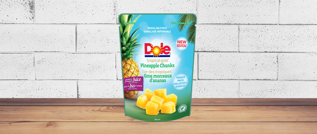 DOLE® pineapple chunks pouch coupon