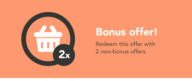 BONUS: Redeem 2 or more offers coupon