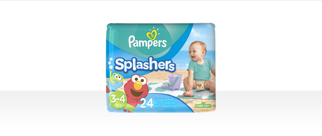 Pampers Splashers Swim diapers coupon