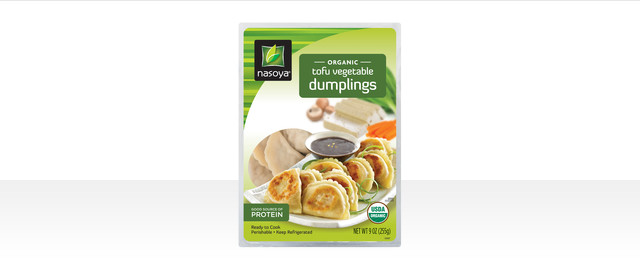 Nasoya Organic Tofu Vegetable Dumplings  coupon