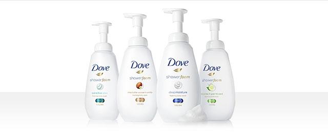 Dove Shower Foam coupon
