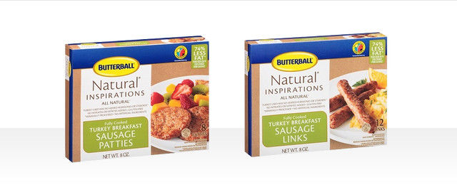 At Select Retailers: Butterball Fully Cooked Breakfast Sausage coupon