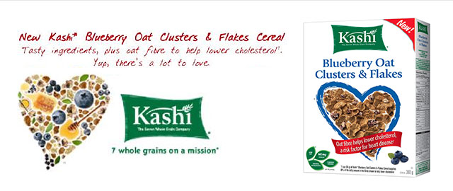 Kashi Blueberry Oat Clusters & Flakes coupon