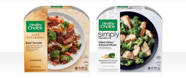 At Walmart: COMBO: Healthy Choice Simply Steamers® + Healthy Choice Cafe Steamers® coupon
