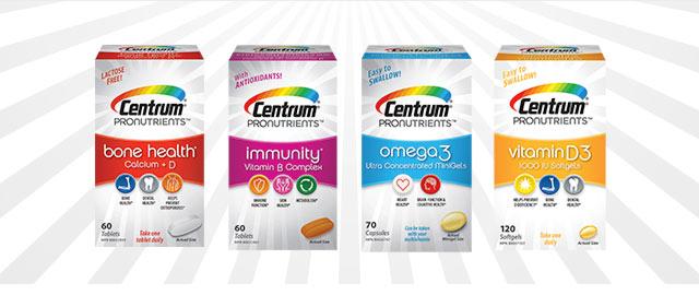 Centrum® ProNutrients™ Supplements coupon