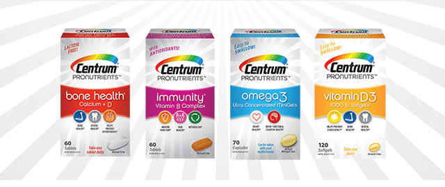 Centrum® ProNutrients™ Supplements coupon
