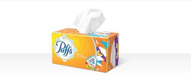 Puffs® facial tissue coupon
