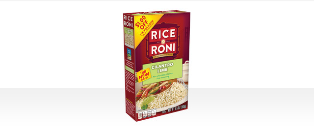 Cilantro Lime Rice a Roni coupon