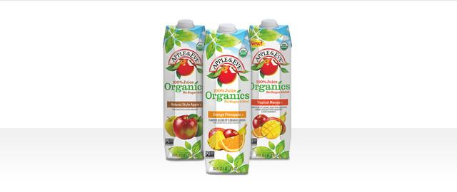 At Select Retailers: Apple & Eve Organics 100% Juice coupon