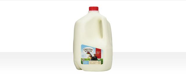 Organic Valley organic milk coupon