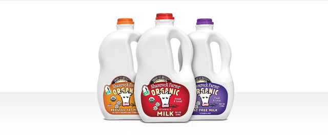 Shamrock Farms organic milk coupon
