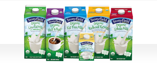 Stonyfield milk coupon
