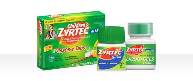At CVS: ZYRTEC® products coupon