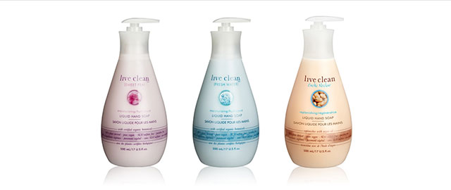Live Clean hand soap coupon