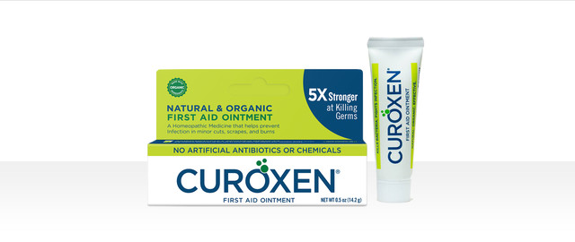 At HEB: CUROXEN all-natural & organic first aid ointment coupon