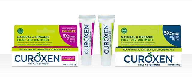 At Harris Teeter: CUROXEN all-natural & organic first aid ointment coupon