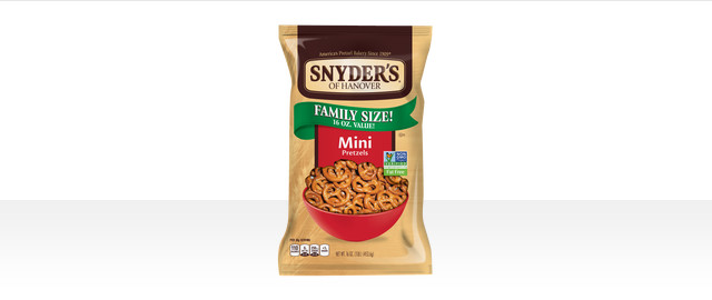 Buy 2: Snyder's of Hanover® Pretzels coupon