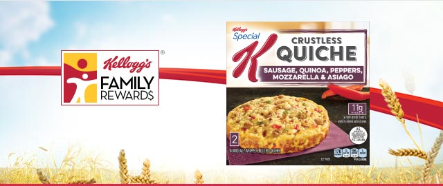 Buy 2: Special K® frozen products coupon