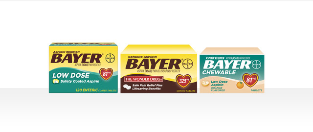 At Dollar General: Select Bayer Aspirin coupon