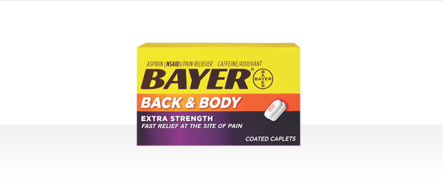 At Dollar General: Bayer Back & Body coupon