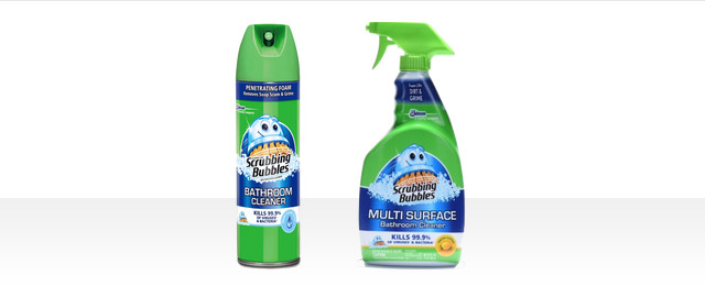 Scrubbing Bubbles® Bath Cleaning products coupon