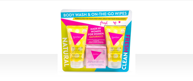 SweetSpot Labs Gentle Body Washes & On-the-Go Wipes Value Pack coupon