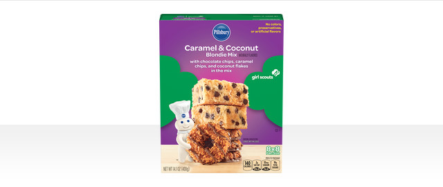 Pillsbury™ Girl Scouts® Caramel & Coconut Inspired Blondie Mix coupon