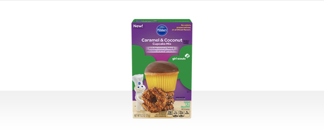 Pillsbury™ Girl Scouts® Caramel & Coconut Inspired Cupcake Mix coupon