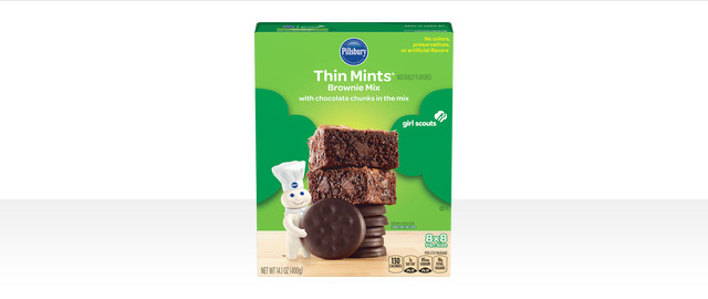 Pillsbury™ Girl Scouts® Thin Mints® Inspired Brownie Mix coupon