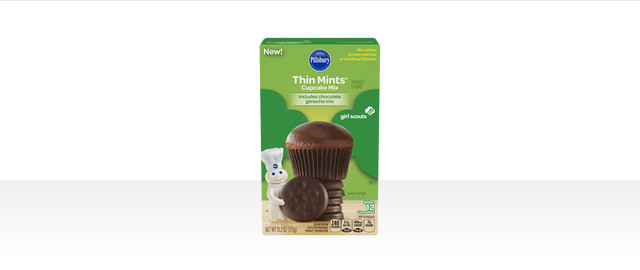 Pillsbury™ Girl Scouts® Thin Mints® Inspired Cupcake Mix coupon