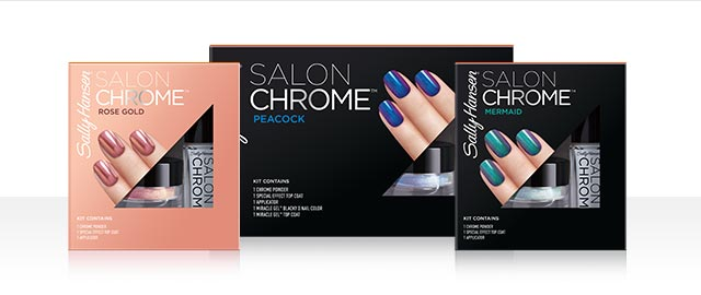 At Select Retailers: Sally Hansen® Salon Chrome kits coupon