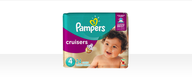 At Select Retailers: Pampers® Cruisers bagged diapers coupon
