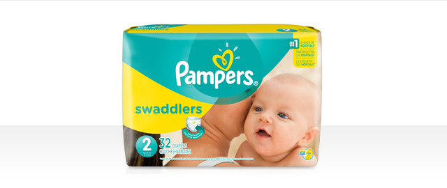 At Select Retailers: Pampers® Swaddlers bagged diapers coupon