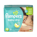 Walmart_At Select Retailers: Pampers® Baby Dry bagged diapers_coupon_31650