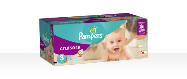 At Select Retailers: Pampers® Cruisers boxed diapers coupon