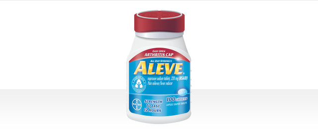 ALEVE® Easy Open Arthritis Cap coupon