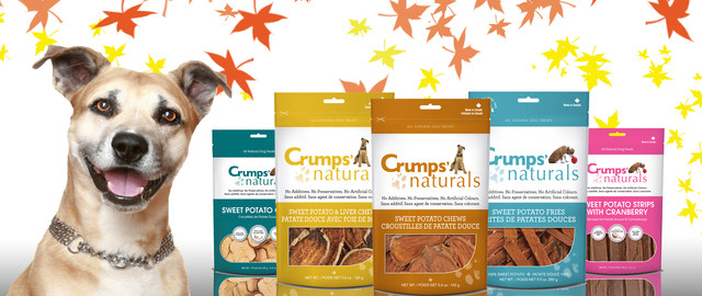 At Select Retailers: Select Crumps' Naturals dog treats coupon