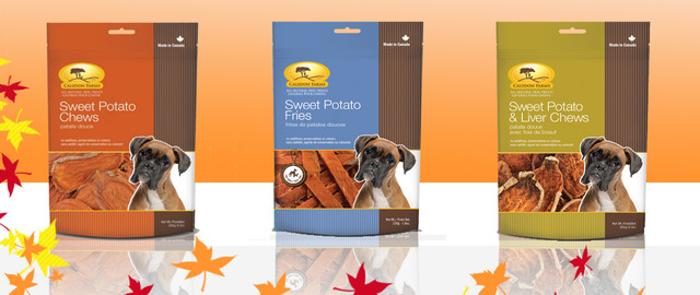 At Select Retailers: Select Caledon Farms dog treats coupon