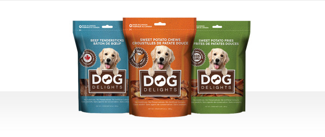 Dog Delights dog treats coupon