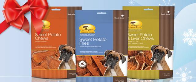 Buy 2: Caledon Farms dog treats coupon