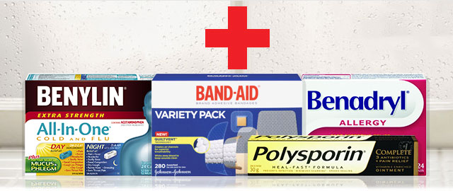 BUILD YOUR OWN FIRST AID KIT coupon
